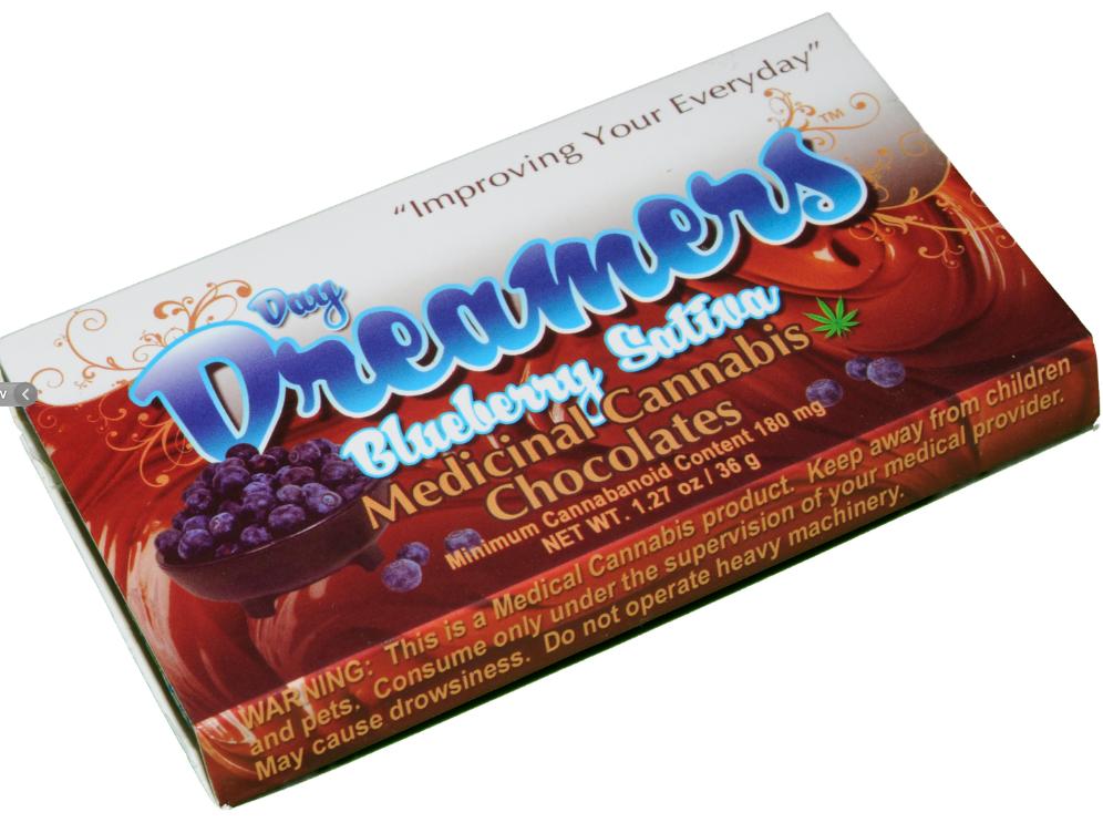 Day Dreamer Blueberry Sativa 100mg