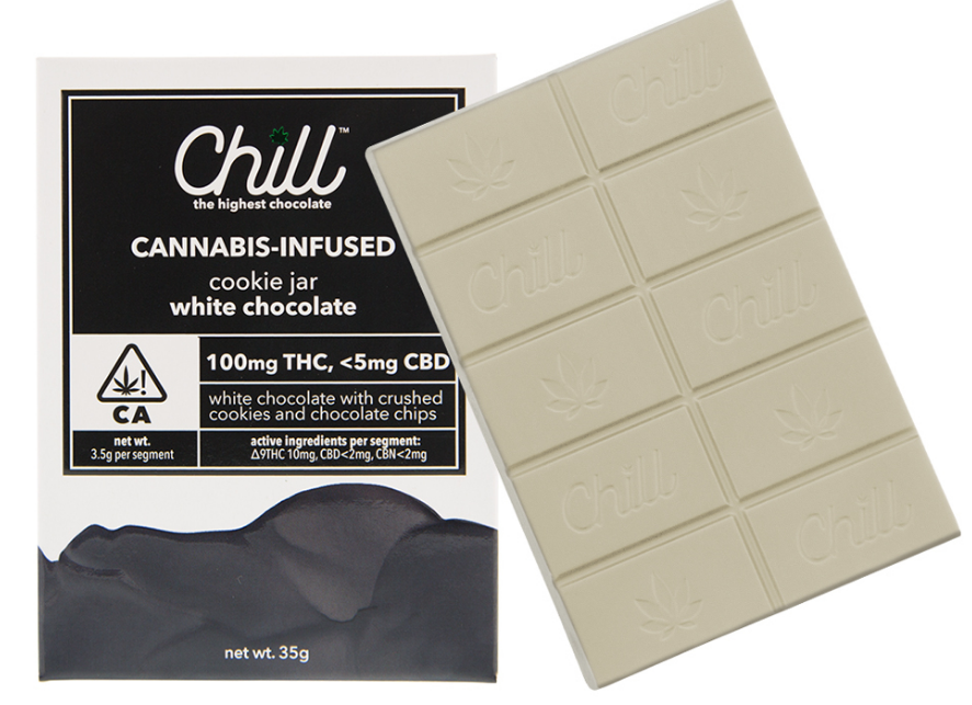 Chill 100mg Cookie Jar White Chocolate