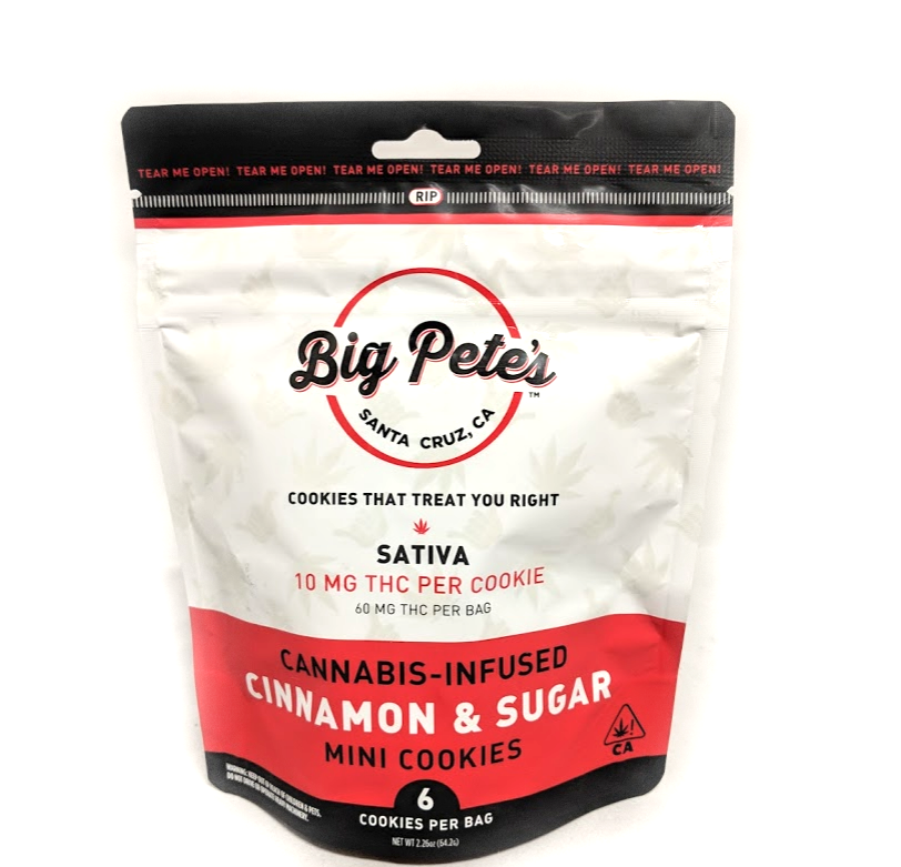 Big Pete's Cinnamon & Sugar Sativa 60mg Cookie