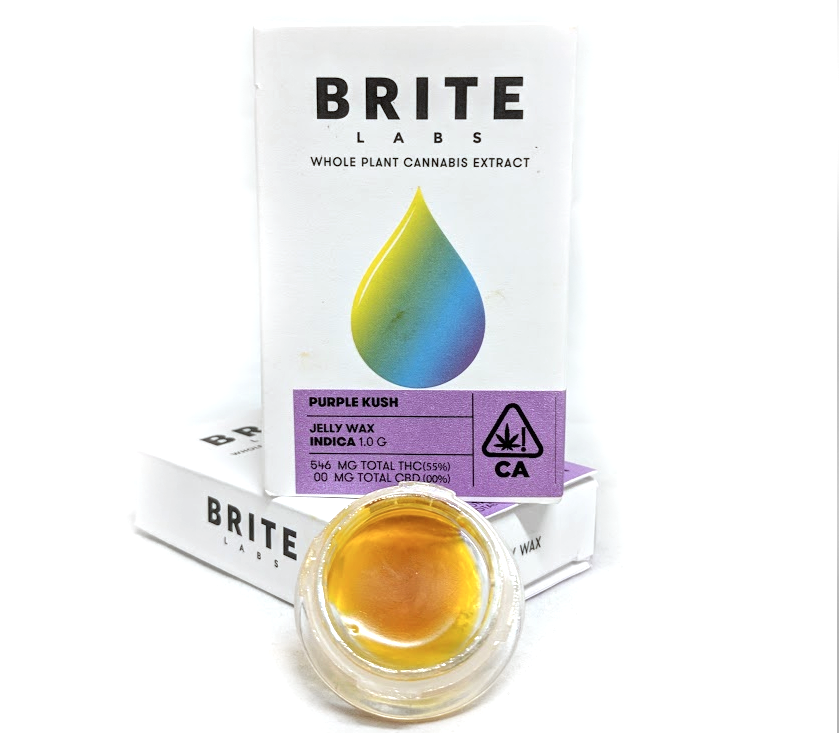 Brite Labs Purple Kush 1G Wax