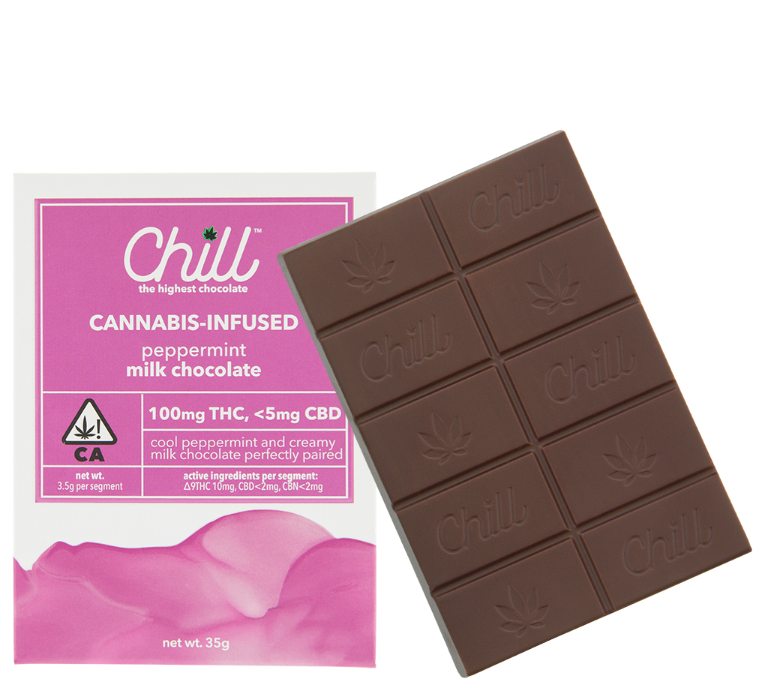 Chill 100mg Peppermint  Chocolate