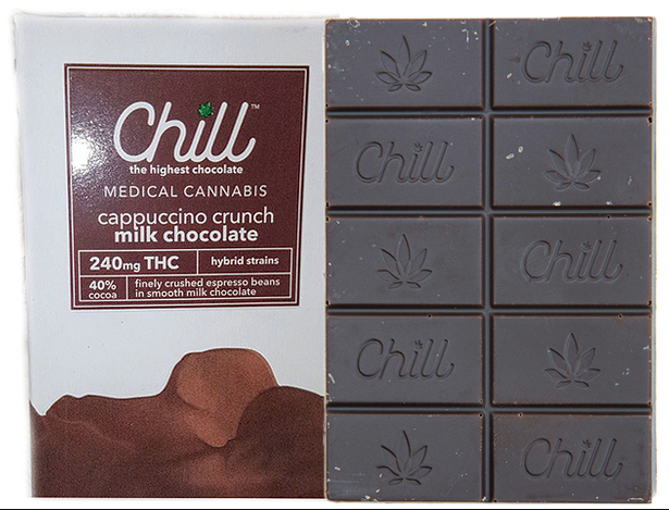 Chill 100mg Cappuccino Crunch Chocolate