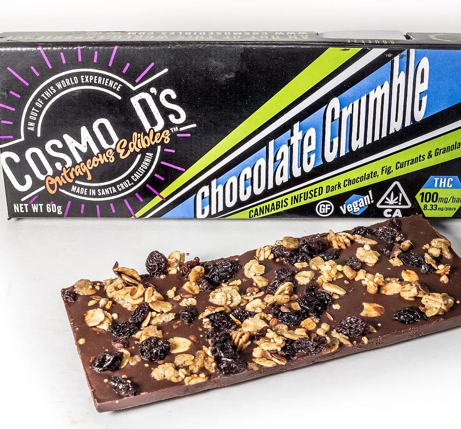 Cosmo D's Chocolate Vegan Crumble 100mg