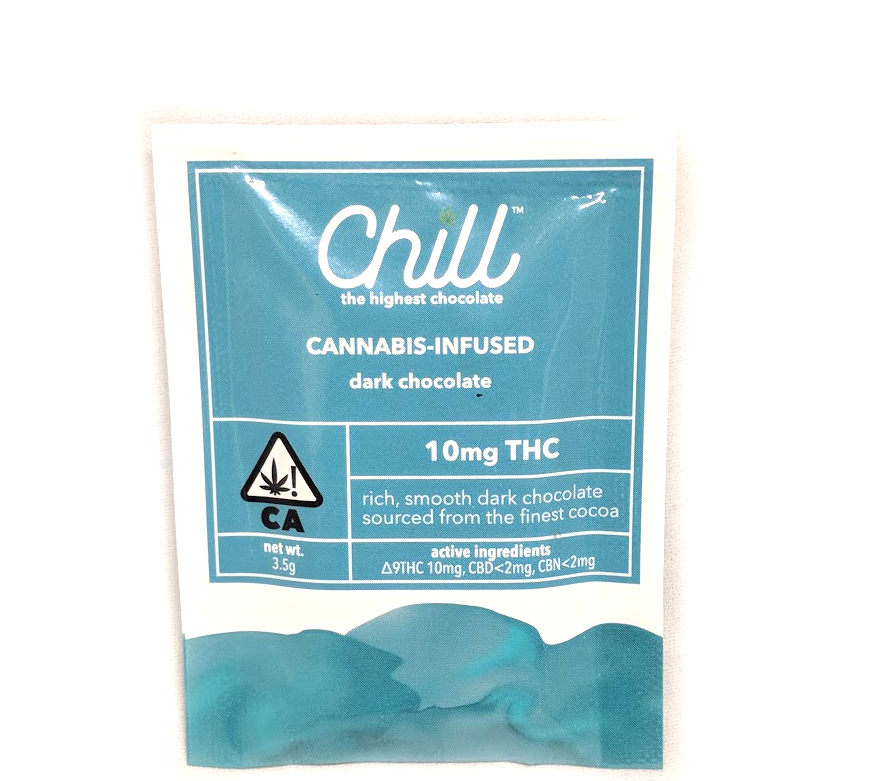 Chill 10mg Dark Singles Chocolate