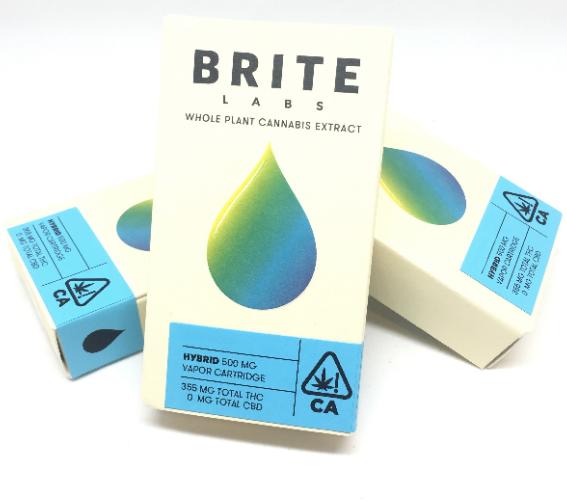 Brite Labs Blue Sapphire .5G Cartridge