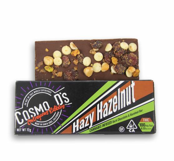 Cosmo D's Hazy Hazelnut 100mg