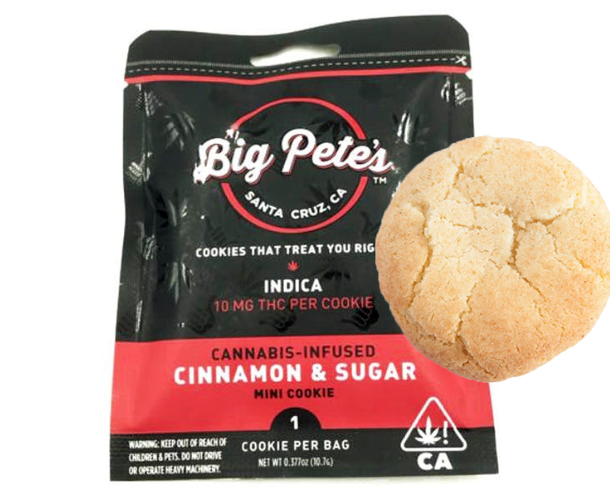 Big Pete's Cinnamon & Sugar Indica 10mg